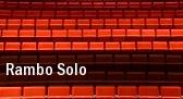 Rambo Solo Mershon Auditorium tickets