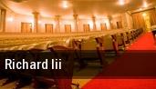Richard III Ewing Manor tickets