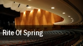 Rite Of Spring Detroit Symphony Orchestra Hall tickets