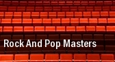 Rock And Pop Masters tickets