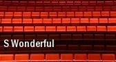 S Wonderful Fort Lauderdale tickets