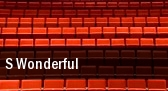 S Wonderful Parker Playhouse tickets