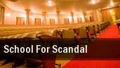 School for Scandal tickets