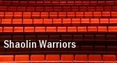 Shaolin Warriors Casino Rama Entertainment Center tickets