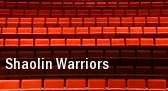 Shaolin Warriors The Music Hall tickets