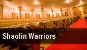 Shaolin Warriors Toronto tickets