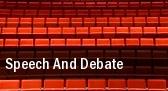 Speech and Debate tickets