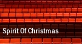 Spirit Of Christmas Pritchard Laughlin Civic Center tickets