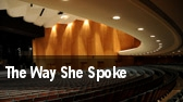 The Way She Spoke Minetta Lane Theatre tickets