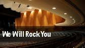 We Will Rock You Raleigh tickets