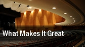 What Makes it Great? Jordan Hall tickets
