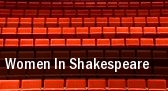 Women In Shakespeare tickets