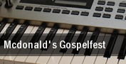 McDonald's Gospelfest Newark tickets
