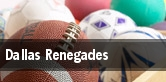 Dallas Renegades tickets