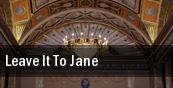 Leave It to Jane New York tickets
