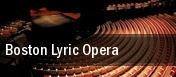 Boston Lyric Opera Boston tickets