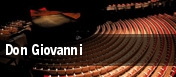 Don Giovanni Lexington Opera House tickets