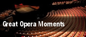 Great Opera Moments tickets