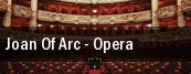 Joan Of Arc - Opera tickets
