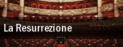La Resurrezione Zilkha Hall tickets