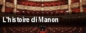 L'histoire di Manon tickets