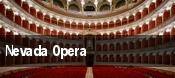 Nevada Opera tickets