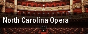 North Carolina Opera Raleigh tickets