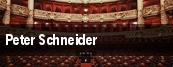 Peter Schneider tickets