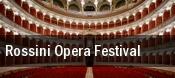 Rossini Opera Festival Municipio Di Pesaro tickets