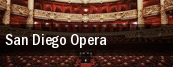 San Diego Opera San Diego Civic Theatre tickets
