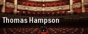 Thomas Hampson Willett Hall tickets