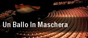 Un Ballo In Maschera Milano tickets