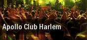 Apollo Club Harlem Apollo Theater tickets