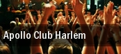 Apollo Club Harlem New York tickets