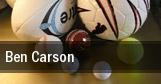 Ben Carson tickets