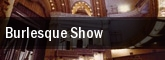 Burlesque Show House Of Blues tickets
