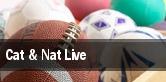 Cat & Nat Live Mashantucket tickets