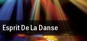 Esprit De La Danse tickets