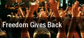 Freedom Gives Back TD Bank Arts Centre tickets