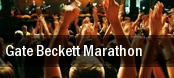 Gate Beckett Marathon tickets