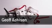 Geoff Achison tickets