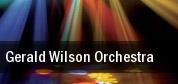 Gerald Wilson Orchestra tickets