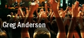 Greg Anderson tickets