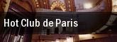 Hot Club de Paris Barfly tickets