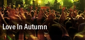 Love In Autumn Lincoln tickets