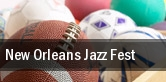 New Orleans Jazz Fest New Orleans Fairgrounds tickets