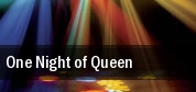 One Night of Queen Mccallum Theatre tickets