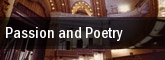Passion and Poetry tickets