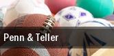 Penn & Teller Biloxi tickets