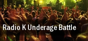 Radio K Underage Battle First Avenue tickets